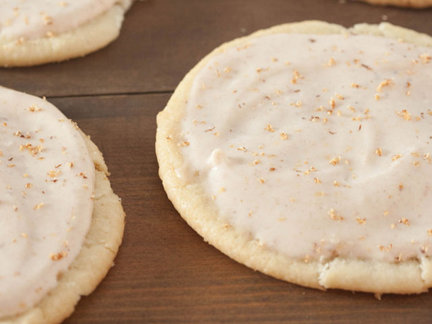 Coquito Frosted Sugar Cookies
