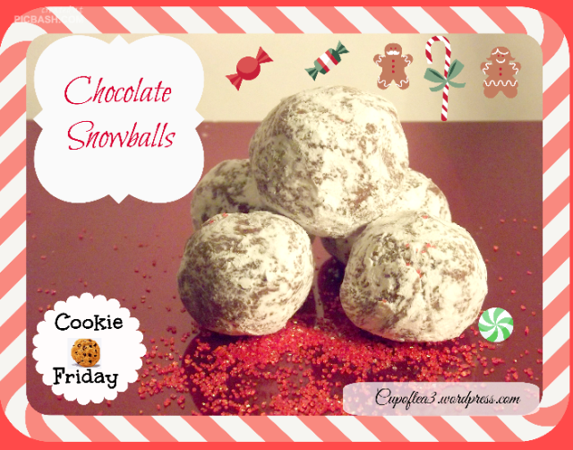 Cookie Friday: Chocolate Snowballs
