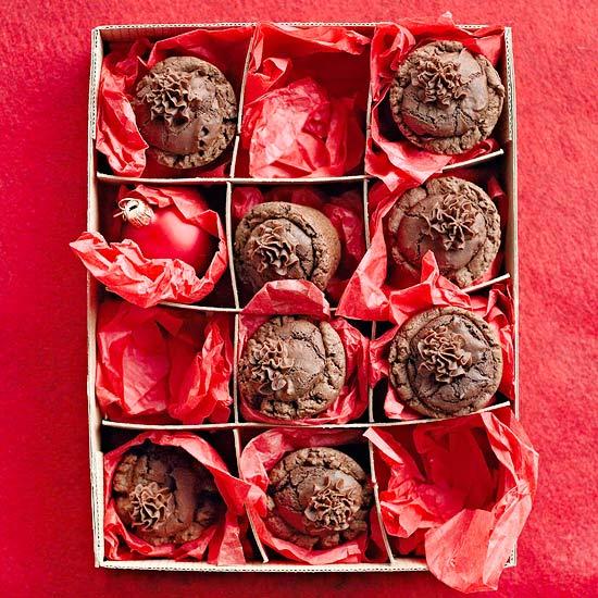 Chocolate-Raspberry Tassies