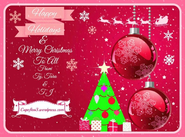 merry christmas to all from cup of tea