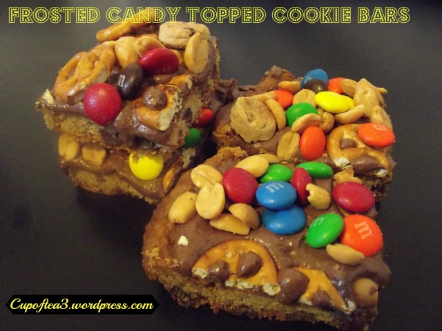 frosted cookie bars