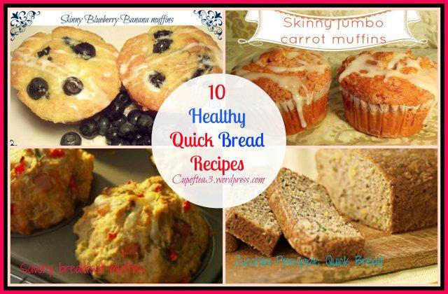 healthy quick bread
