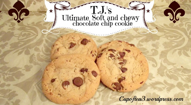 T.J.'s soft & chewy chocolate chip cookies
