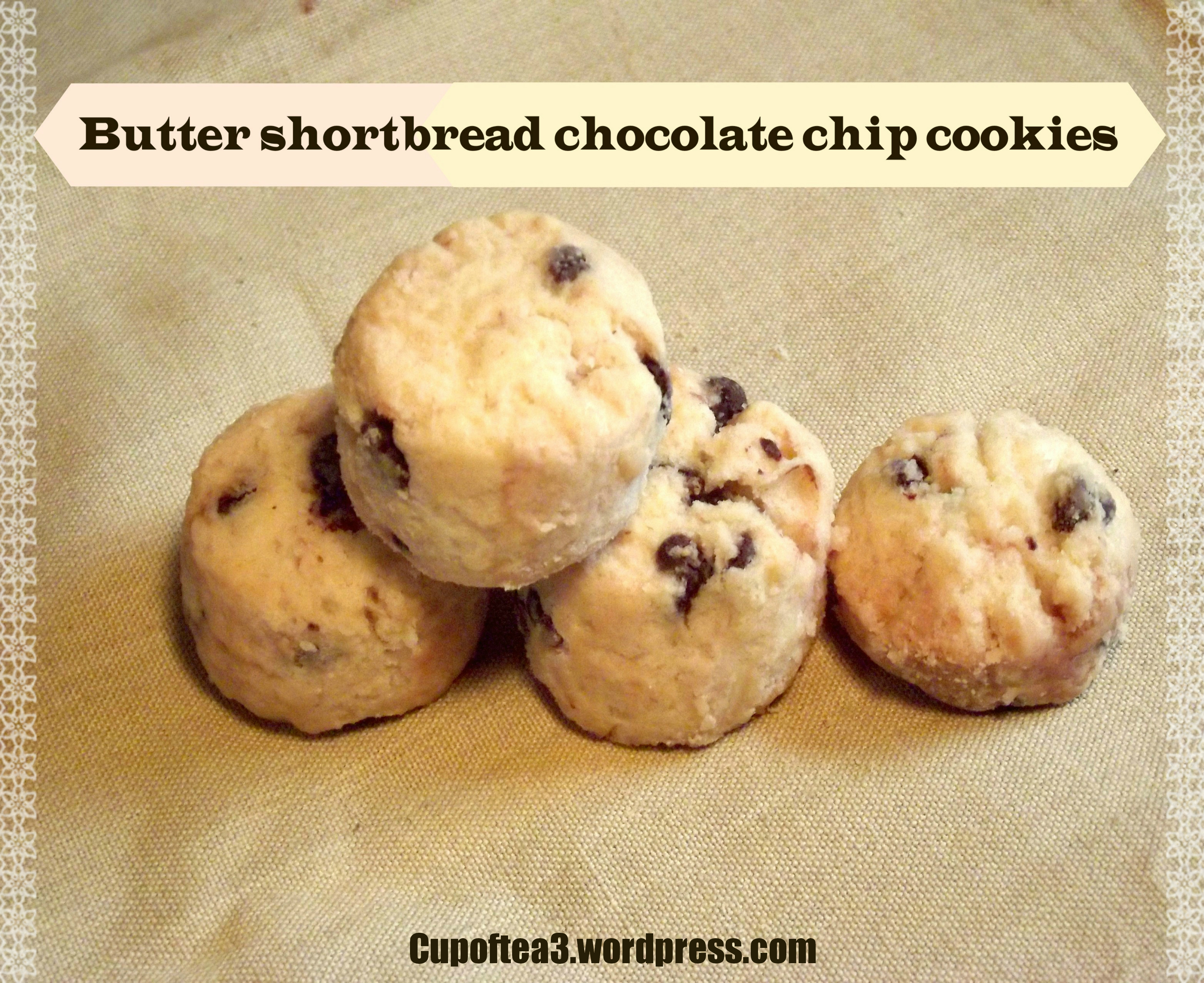 butter chocolate chip cookies display 2.,.,.